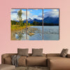 Beautiful high mountains of the Canadian Rockies wall art