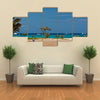 View on the ocean, island Sal, Cape Verde Multi panel canvas wall art
