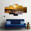 Budapest-Hungary Multi Panel Canvas Wall Art