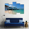 Doctor's Cave Beach Club, Montego Bay, Jamaica Multi panel canvas wall art