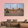 Beautiful government building of Rashtrapati Bhavan multi panel canvas wall art