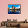 The Hague, Den Haag, city center skyline, Netherlands wall art