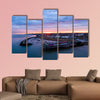 Herne Bay Pier & Neptunes arm sunrise, Kent multi panel canvas wall art