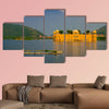 Beautiful view of Jal Mahal Water Palace on Man Sagar Lake in Jaipur, wall art
