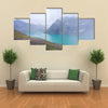 The Base Camp By Ala Kul Lake In The Karakol National Park, Kyrgyzstan Multi Panel Canvas Wall Art