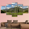 Beautiful view of Avila Mountain from the East Park Warairarepano Caracas Venezuela, Multi Panel Canvas Wall Art