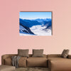 Aletsch glacier, ice landscape in Alps of Switzerland, Europe wall art