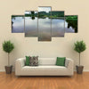 River in Gabon Multi Panel Canvas Wall Art