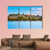 Panoramic View of Historic Center of Zurich, Switzerland canvas wall art