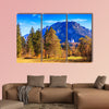 Famous Neuschwanstein castle in Bavaria, Germany multi panel canvas wall art