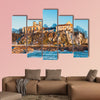 Benedictine monastery in Tyniec near Krakow, Poland multi panel canvas wall art