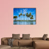 Kerala backwaters multi panel canvas wall art