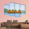The palace Jal Mahal India multi panel canvas wall art