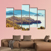 Beautiful sea coast in Turkey multi panel canvas wall art
