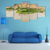 Pamir, Afghanistan and Panj River along the Wachan Corridor Multi panel canvas wall art