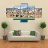 The Toktogul Lake With The Barren Mountain Range, Central Asia, Kyrgyzstan Multi Panel Canvas Wall Art