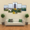 Shanghai Songjiang Sijing Angola tower Multi panel canvas wall art