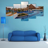A beach resort in Cancun, Mexico Multi Panel canvas wall art
