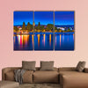 Skyline of Bonn, Germany multi panel canvas wall art