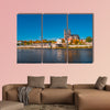 Golden autumn in Magdeburg, Germany multi panel canvas wall art