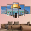 The Dome of the Rock, Jerusalem, Israel multi panel canvas wall art