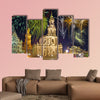 Beautiful bright colorful city landscape in Dresden, Germany wall art