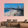 A view of the famous Copacabana beach in Rio De Janeiro Brazil multi panel canvas wall art