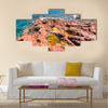 Nature of the Socotra Island, Yemen Multi panel canvas wall art