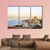 Panoramic view of Beirut, Lebanon capital multi panel canvas wall art