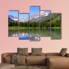Swift current lake Multi panel canvas wall art