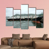 Busan port multi panel canvas wall art