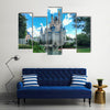 Cinderella castle in Magic Kingdom at Walt Disney World Resort, Florida, United States Multi Canvas Print Wall Art