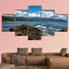 Travel photography - seascape in Chuspa beach (Vargas, Venezuela), Multi Panel Canvas Wall Art