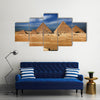 Miracle of the world, The Egyptian pyramids Multi Panel Canvas Wall Art