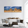 Miracle of the world, The Egyptian pyramids Panoramic Canvas Wall Art