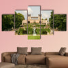 L'Orangerie in Sanssouci Park, in summer multi panel canvas wall art