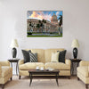 nouveau building with its distinctive dome Multi panel canvas wall art