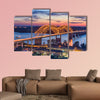 Memphis, Tennessee, USA at Hernando de Soto Bridge multi panel canvas wall art