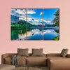 Copy of Island at dusk, Ionian archipelago, Greece Multi panel canvas wall art