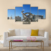 Modern architecture of Ashgabat capital of Turkmenistan Multi panel canvas wall art