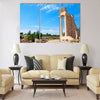 Ruins of the Sanctuary of Apollo Hylates Multi Panel Canvas Wall Art