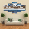 The Barskoon Syrts At Issyk Kul Region In The Kyrgyzstan Multi Panel Canvas Wall Art