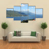 The Lake Ohrid, Macedonia Landscape Summer Season, Multi Panel Canvas Wall Art