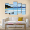Coatepeque lake view, Santa Ana, El Salvador, Central America Multi Panel Canvas Wall art
