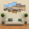 Abandoned Vintage Buildings Once Used in Mining Operations Multi panel canvas wall art