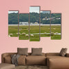Portmeirion Village on the River Dwyryd Estuary with grazing salt wall art