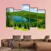 The Camel ride sky pond in the Alshan national forest park of China multi panel canvas wall art