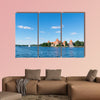 Trakai castle in Lithuania near Vilnius multi panel canvas wall art