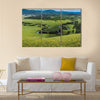 Hawu'er River Scenic Area Multi panel canvas wall art