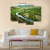 Inner Mongolia Hulunbeier Bayan Huoshu Mongolian tribes wetlands Multi panel canvas wall art